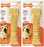 Nylabone Dura Chew Textured Toy (Peanut Butter Flavored Bone – 2 Pack) Review