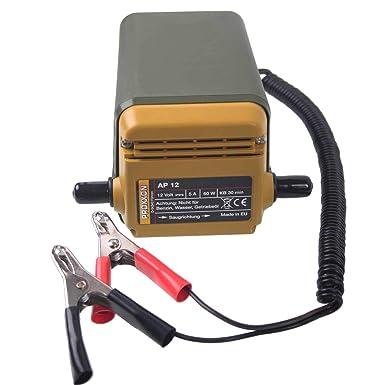 Proxxon Ap 12 Ölabsaugpumpe Selbstansaugende Ölpumpe Für Motorenöl Diesel Heizöl Inkl Saug Und Ablassschlauch 25262 Gewerbe Industrie Wissenschaft