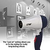Manija plegable 1500W Secador de pelo Secador de pelo Viento caliente Viento de bajo ruido…