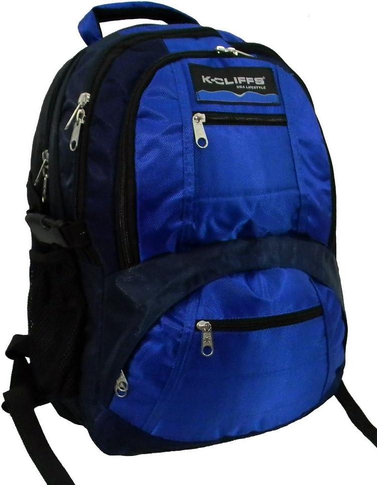 19 Hiking Backpack Daypack Travel Bag Large Student Bookbag Fits 15.6 Laptops