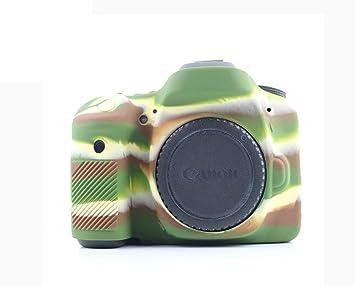 Funda de Silicona para cámara Canon EOS 80D: Amazon.es: Electrónica