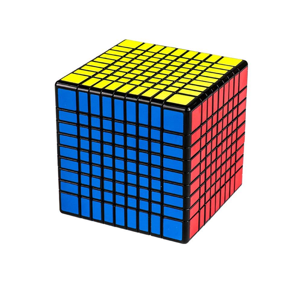 PinShang MOYU MF9 9x9 Magic Puzzle Cube Adult Kids Educational Toy Birthday Festival Gift Black Bottom Sticker