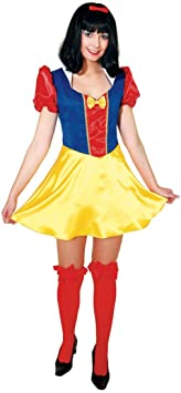 Disfraz de Princesa de Cuento de Blancanieves para Mujer Vestido ...
