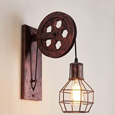 Wansheng cr atif r tro style industriel lampe murale - Applique murale pour salle a manger ...