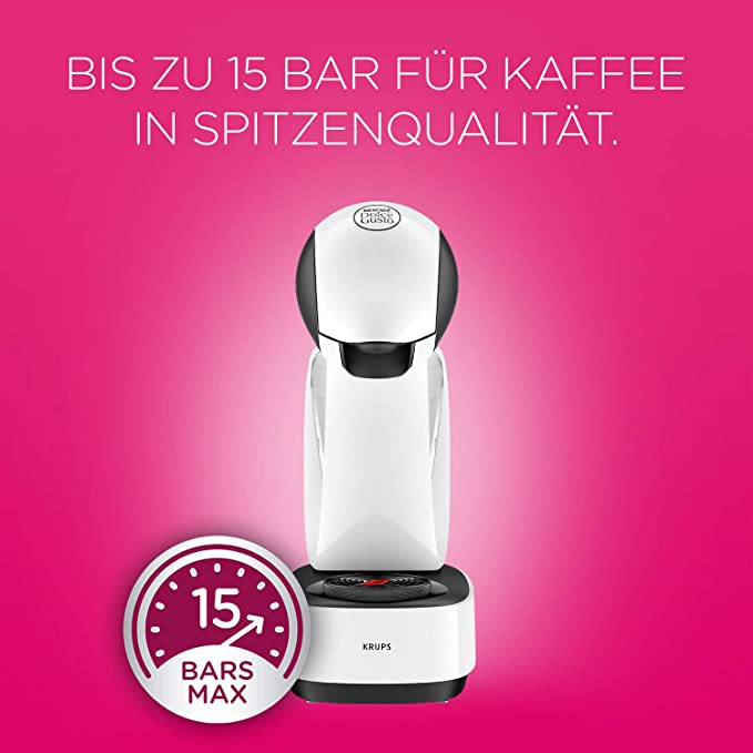 Krups Dolce Gusto KP1701 Infinissima Cafetera de capsulas, 1500 W ...