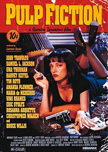 Pulp Fiction (Cover) Giant Poster 39x55 (Pulp Fiction Merchandise compare prices)