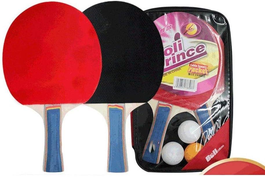 Lijincheng Paleta de Ping Pong Tabla Raqueta de Tenis Artículos Deportivos Ping-Pong Junta Montada Disparo Dos Juntas Tres Bolas Horizontal