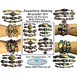 x 16 Bracelet Making Jewelry Kit