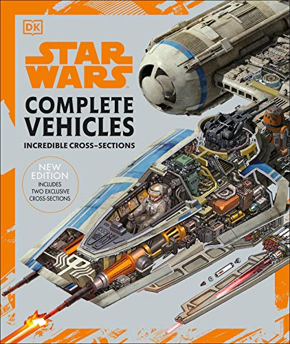 Book Cover: Star Wars Complete Vehicles New Edition
