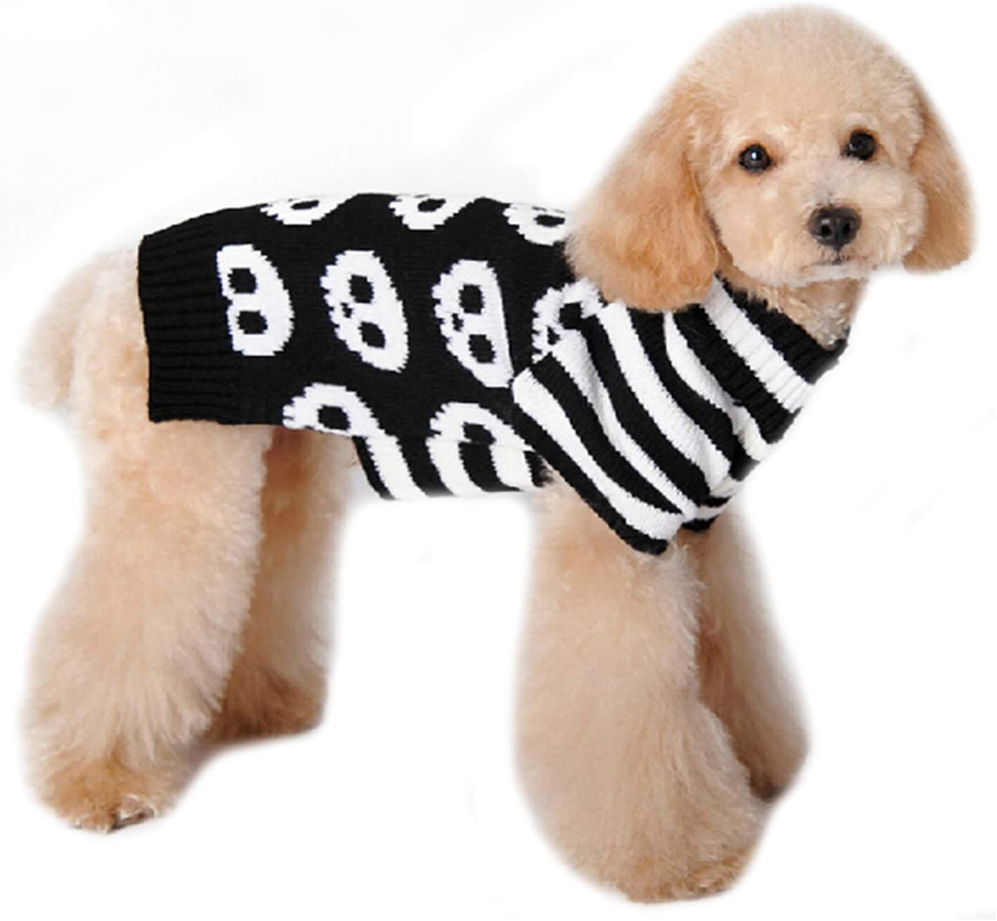 Skull Halloween Pet Puppy Clothes Warm Festival Knitwear Sweaters Dog Apparel for Dogs Cats PETCARE Dog Sweaters