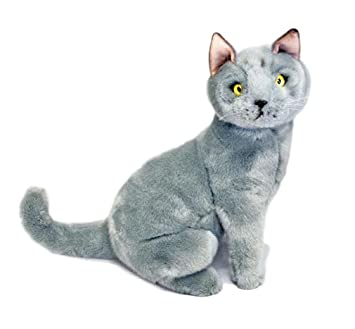 Amazon com: Bocchetta Plush Toys Russian Blue Cat/Kitten