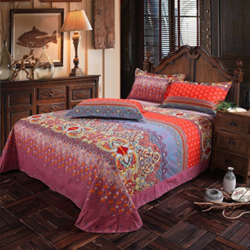 Lelva Country Style Bedding Sets Bohemian Style Bedding Boho Style Bedding Set Boho Duvet