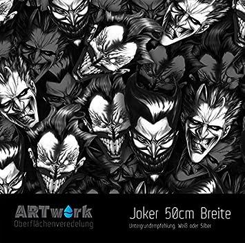 Aktivator Wassertransferdruck Folie WTD Starterset 1m The Joker