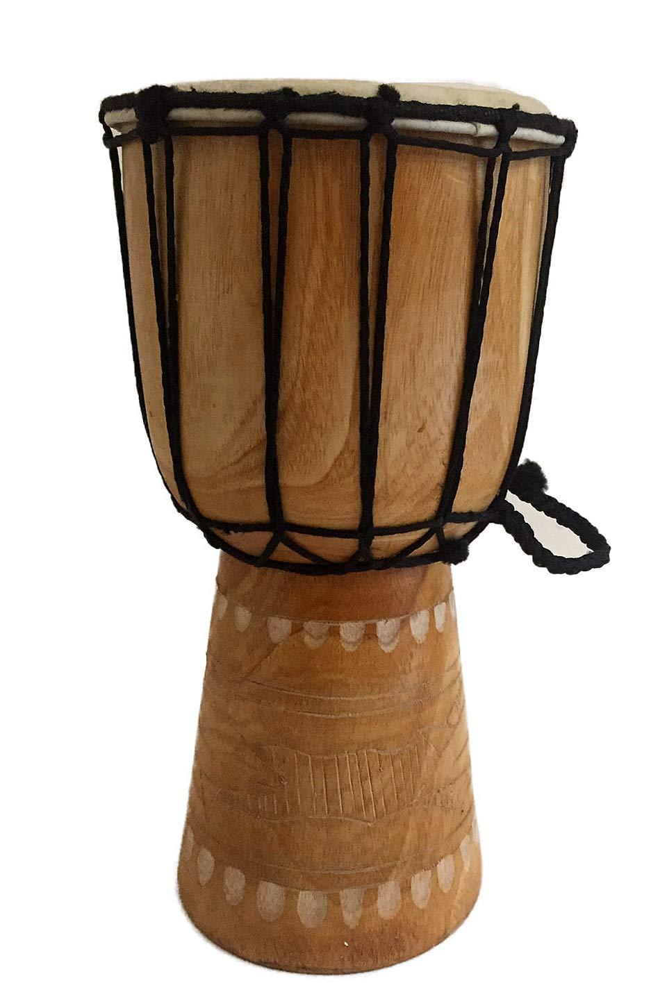 Djembe Drum Bongo Congo African Drum -MED SIZE- 12