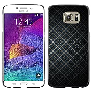 Stuss Case / Funda Carcasa protectora - Wallpaper Geometrical Square Simple Design - Samsung Galaxy S6 SM-G920