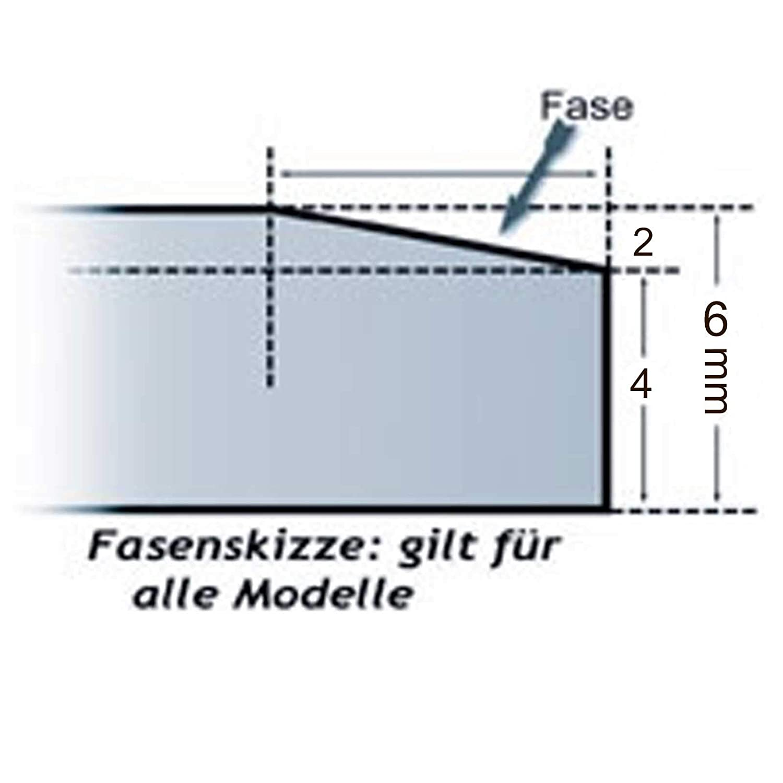 Glasbodenplatte 6 mm St/ärke Rund 21.02877.2 Glasplatte Funkenschutz Platte Kamin Ofen Kamin/öfen Lienbacher Vorlegeplatte Bodenplatte ESG Sicherheitsglas 100 x 100 cm