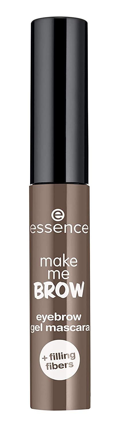 essence | 3-Pack Make Me Brow Eyebrow Gel Mascara | Infused with Fibers to Fill & Sculpt | Vegan & Paraben Free | Cruelty Free (02 | Browny Brows)