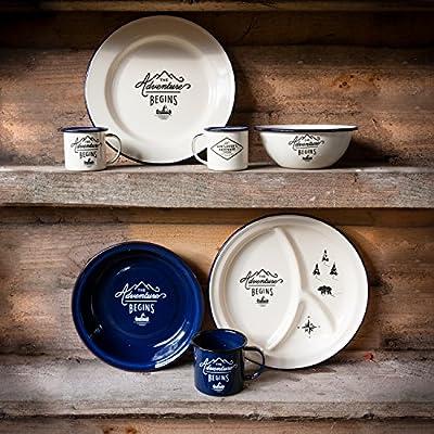 Gentlemen's Hardware Adventure Enamel Mug