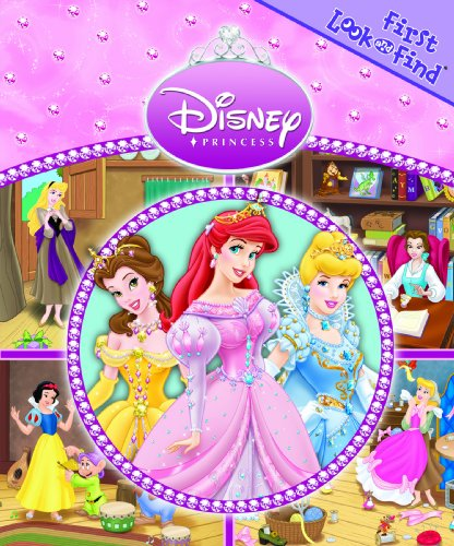Disney Princess First Look and Find