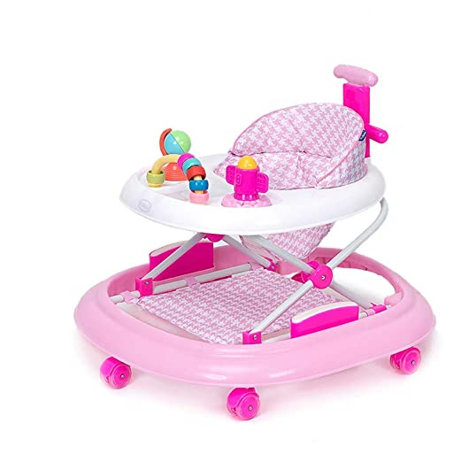 Baby Walkers 6-18 Meses Andador para bebé, Plegable y Regulable en ...
