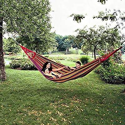 Camping & Outdoor ANYOO HÄNGEMATTE_OUTDOOR BAUMWOLLE_MEHRPERSONEN 200_X 150_CM