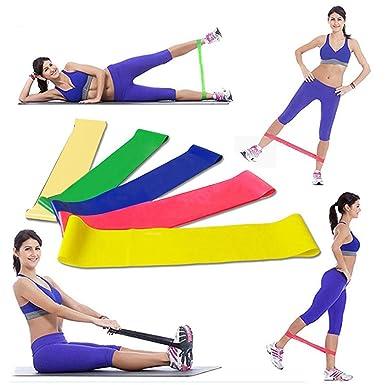 Amazon.com: Pinsparkle Wekold - Bandas elásticas para yoga ...
