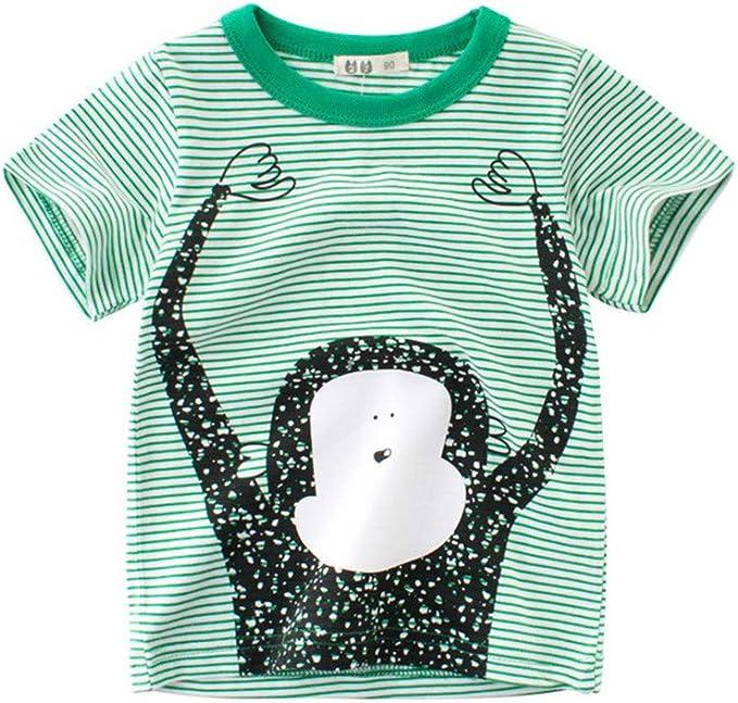 27 KIDS Camiseta De Algodón Infantil Mono De Dibujos Animados para ...