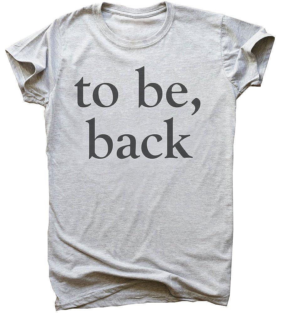 IDcommerce to Be Back Mens T-Shirt XX-Large Gray