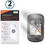 Garmin eTrex Touch 35t Screen Protector, BoxWave [ClearTouch Anti-Glare (2-Pack)] Anti-Fingerprint Matte Film Skin for Garmin eTrex Touch 35t, Touch 35, Touch 25