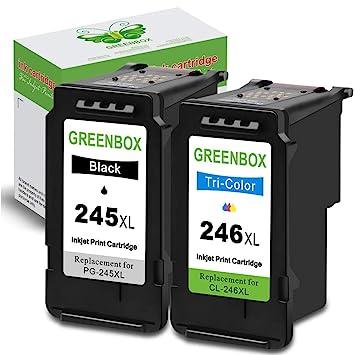 Amazon.com: GREENBOX - Cartucho de tinta remanufacturado de ...