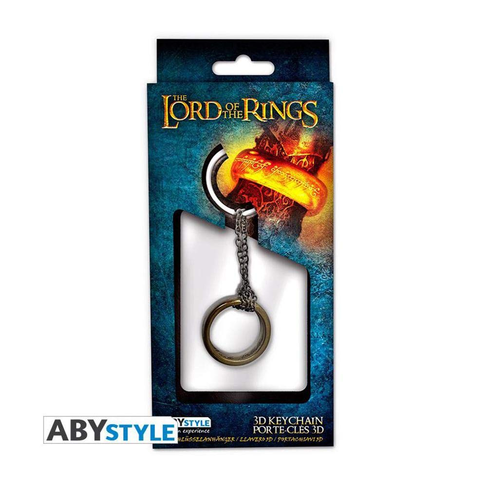 ABYstyle Abysse Corp_ABYKEY168 Lord Keychain 3D Ring X2, Multi Colour