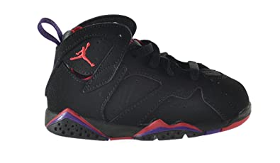 Jordan 7 Retro (TD) Baby Toddlers Shoes Black/True Red-Dark Charcoal