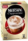 Nescafé - Cappuccino, Preparato Solubile in Polvere con Caffè e Latte - 3 confezioni da 10 buste (10 tazze) l'una [30 buste, 30 tazze, 420 g]