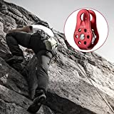 20KN Outdoor Climbing Fixed Mountaineering Rope Rock Climbing Pulley Devices