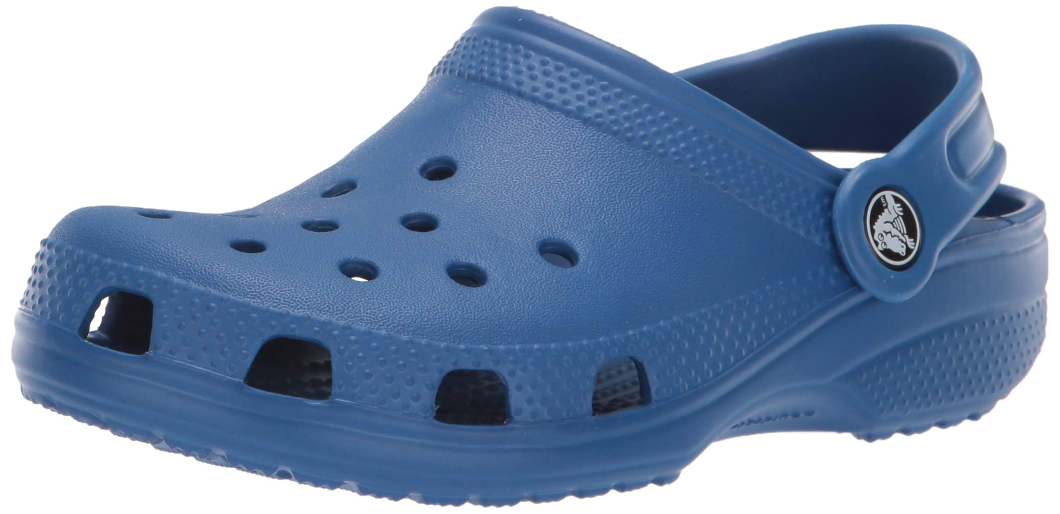 Crocs Kids' Classic Clog, blue jean, 6 M US Toddler