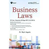 BUSINESS LAWS (B.COM) (CBCS)