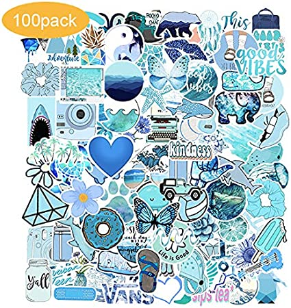 Vinyl Decal Sticker Paper Water Bottle Stickers Book Pack Skateboards Maker Kids