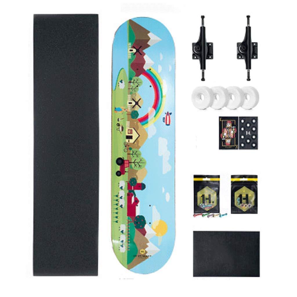 激安超安値 ストリートスキル4輪ロードバイラテラルティルトプロスケートボードスケートボード初心者大人の子供の男の子と女の子 Rainbow (色 : X-black) X-black) B07KYHP6M1 B07KYHP6M1 Rainbow Rainbow, パワーストーン通販専門店GRAVEL:88a06e0b --- a0267596.xsph.ru