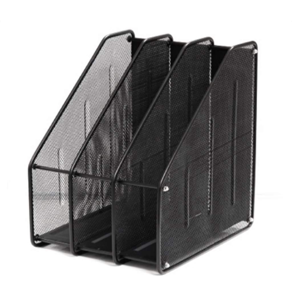 WHL Metal Triple File Holder Datenhalter Storage File Column schwarz B07MQRSGW4 | Geeignet für Farbe