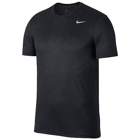 4926b892 NIKE Solid Men's Round Neck Grey T-Shirt (XXL): Amazon.in: Sports ...