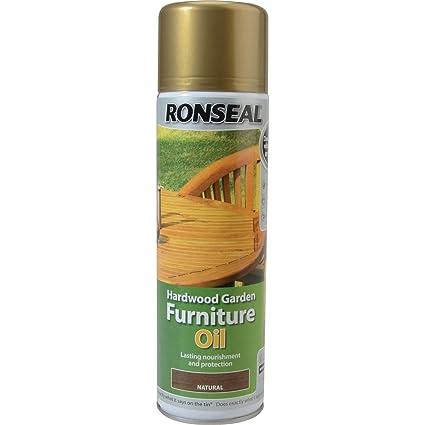 Ronseal HFONCAE 500ml Aceite para muebles de madera dura - Natural ...