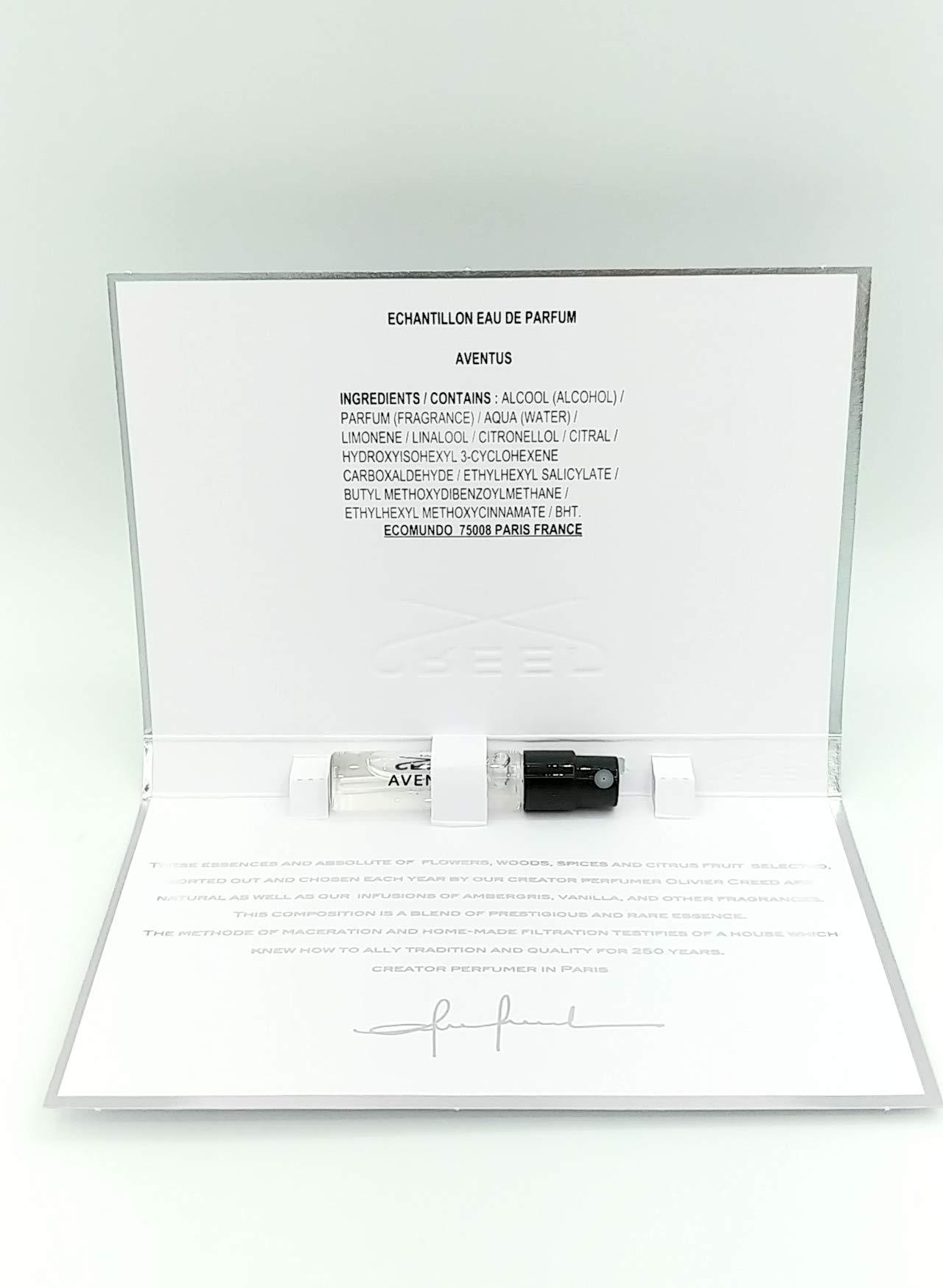 0bad6c52ea Amazon.com   Aventus by Creed Men s Vial (sample) .05 oz - 100% Authentic    Beauty