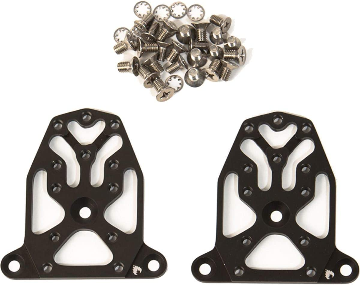 One Size Spark R/&D Dynafit Toe Adapter Plates Black