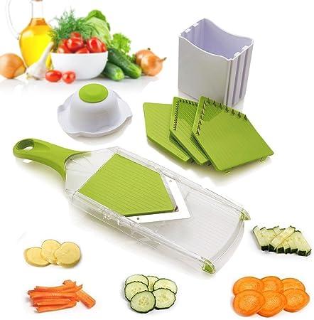 Uten Vegetable Hand Held Spiral Slicer Easy Clean Kitchen Tool For Potatocarrotcucumber Abs Green 11lb