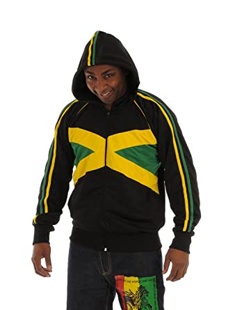 rasta4real JAMAICA Bandera CHAQUETA CAPUCHA - XL: Amazon.es: Ropa y accesorios