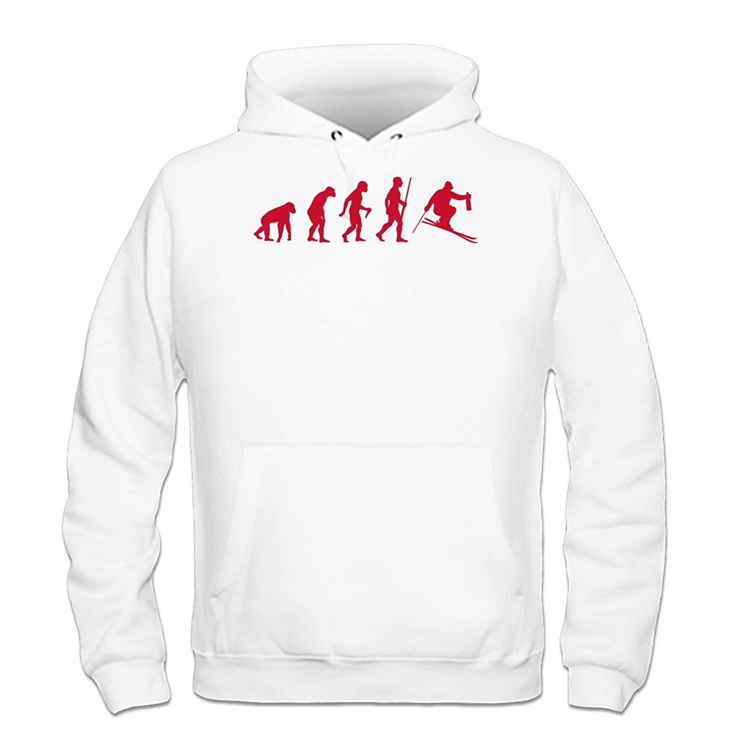 Après Ski Evolution Kapuzenpulli by Shirtcity