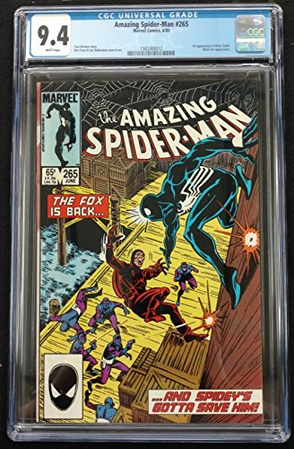 Amazing Spider-man (1963) #265 CGC 9.4 1st Appearance Silver Sable (156368012)