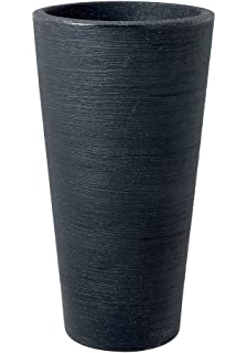 Stewart Varese Tall Planter, Granite Effect, 40 Cm