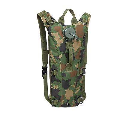 LLQ Multi-Fonction Étanche Tactique Backpack Camouflage, Sac pour Camping  Randonnés Voyage Cyclisme Sac abacafd9e8d0