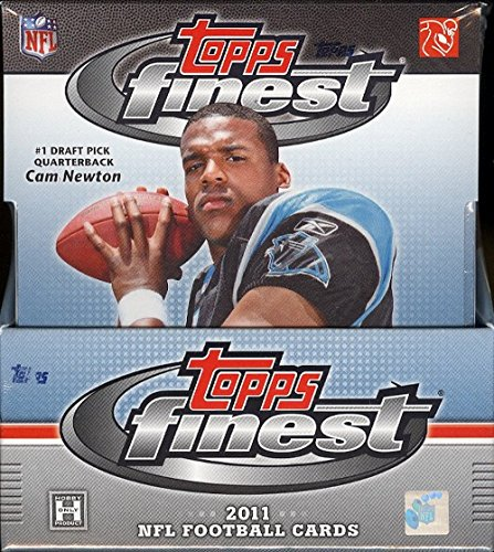 - 2011 Topps Finest NFL Football HOBBY box (12 pk)